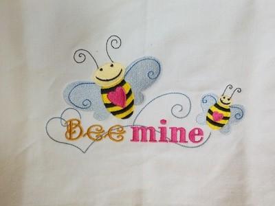 Bee Mine Dishtowel
