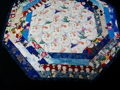 Snowman Table Topper
