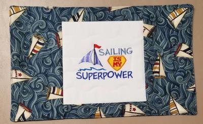 Sailing is my SUPERPOWER