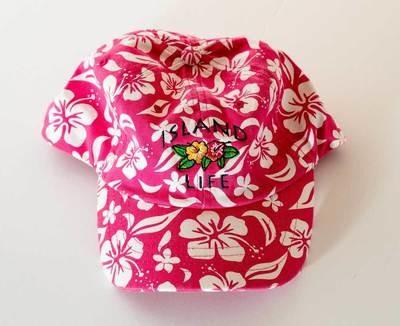 Island Life Floral Cap