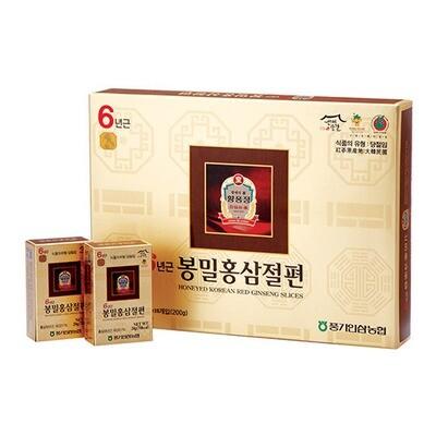 황풍정 6년근 봉밀홍삼절편 200g HONEYED KOREAN RED GINSENG SLICES (20g*10pk)