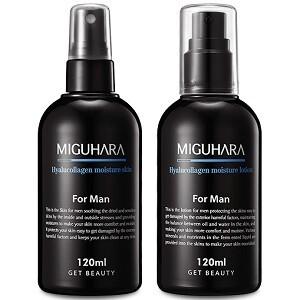 (남성용)히아루콜라겐 모이스처 로션+스킨(포맨) 120ml+120ml Hyalucollagen Moisture Lotion+Skin (For Men)
