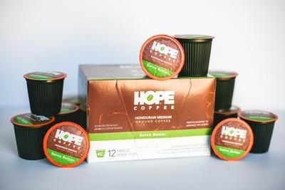 Honduran Medium Single Serve Cups Home Subscription Starting at