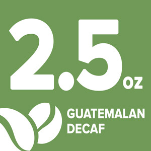 Guatemalan Decaf - 2.5 Ounce Retail Labeling starting at: