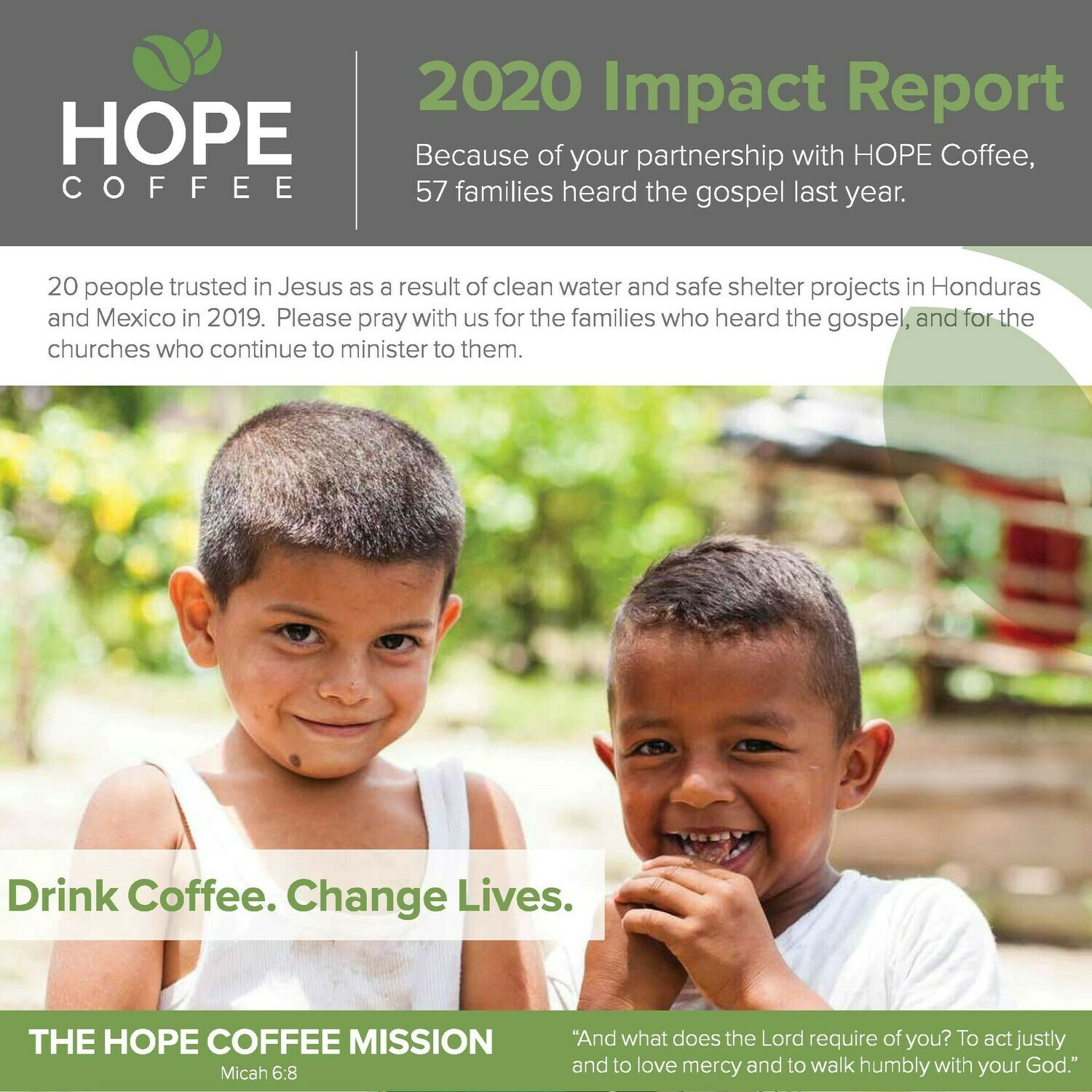 Packs of 25 Impact Reports