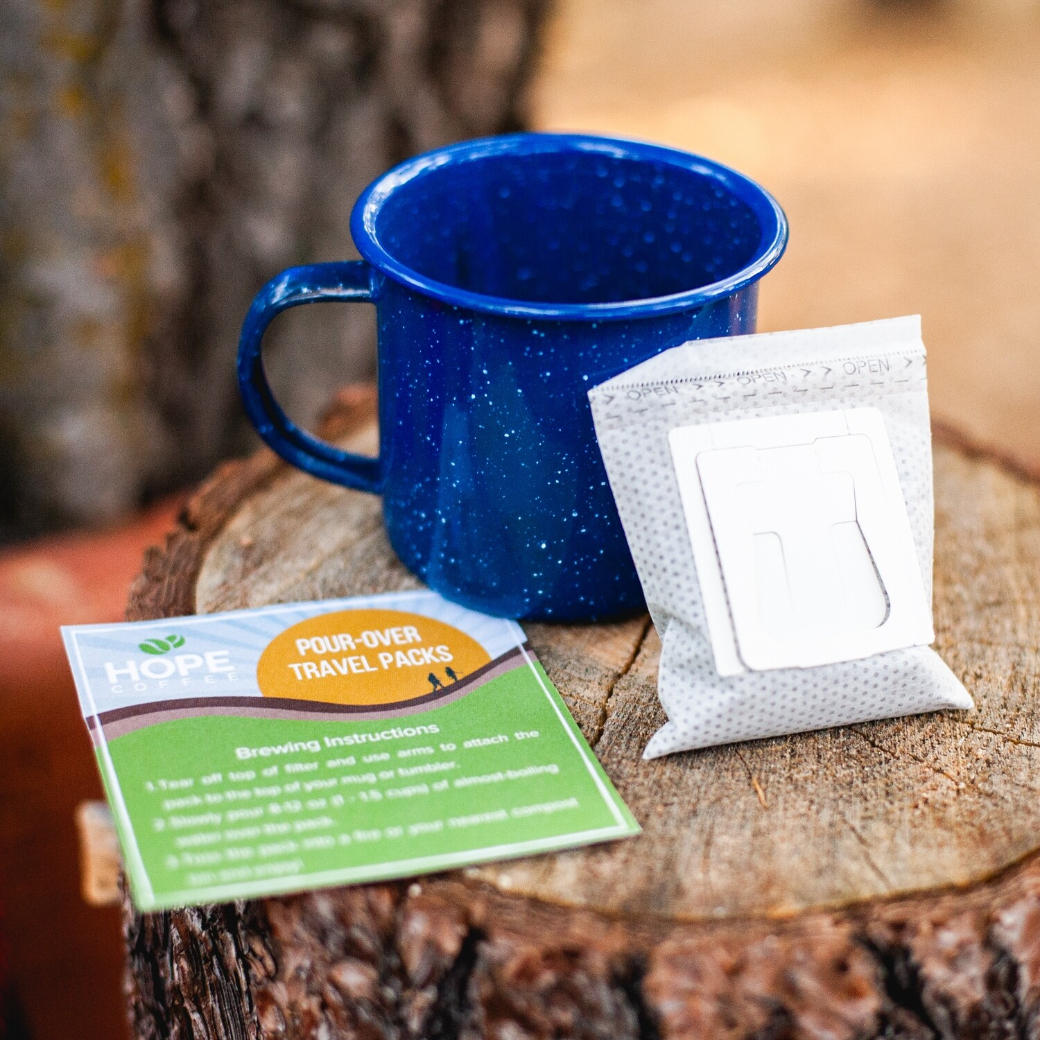Pour Over Travel Packs starting at