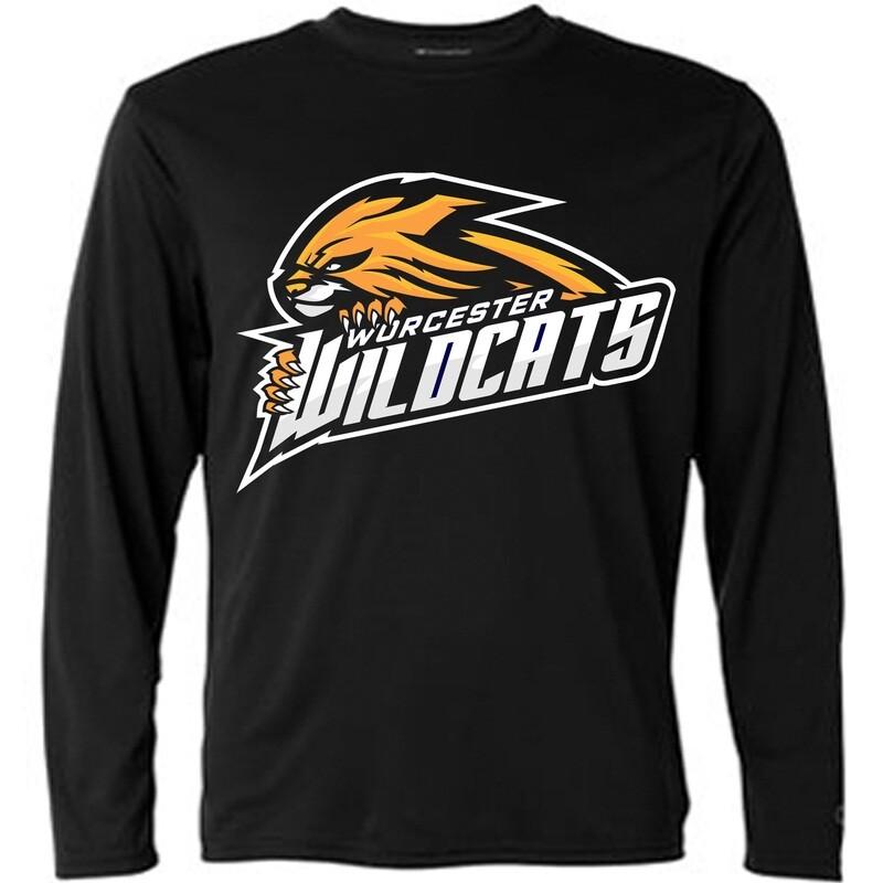 Wildcats Long Sleeve Black