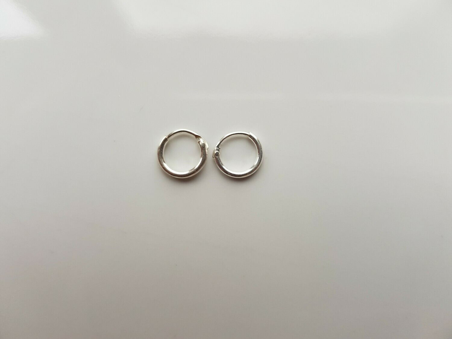 Oorringetjes 925 sterling zilver 6 mm