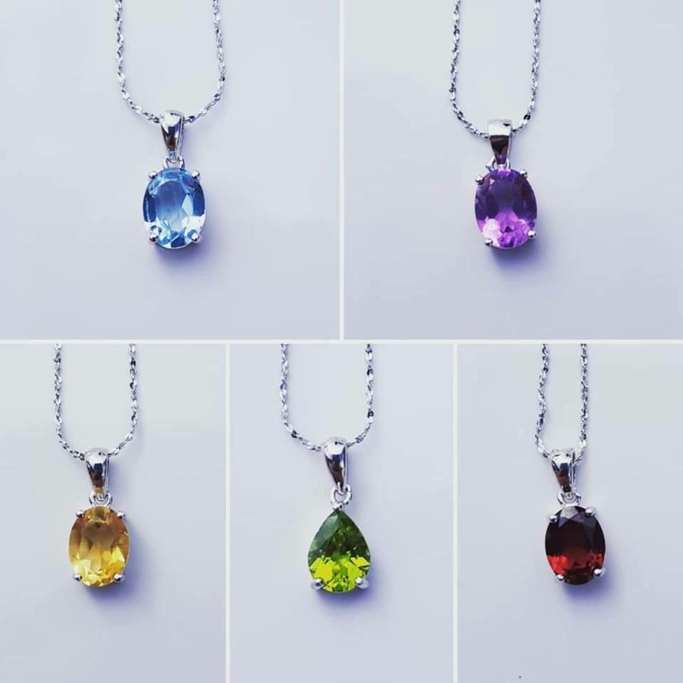 Colorful halsketting in 5 kleuren