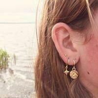 3D sterren oorbellen