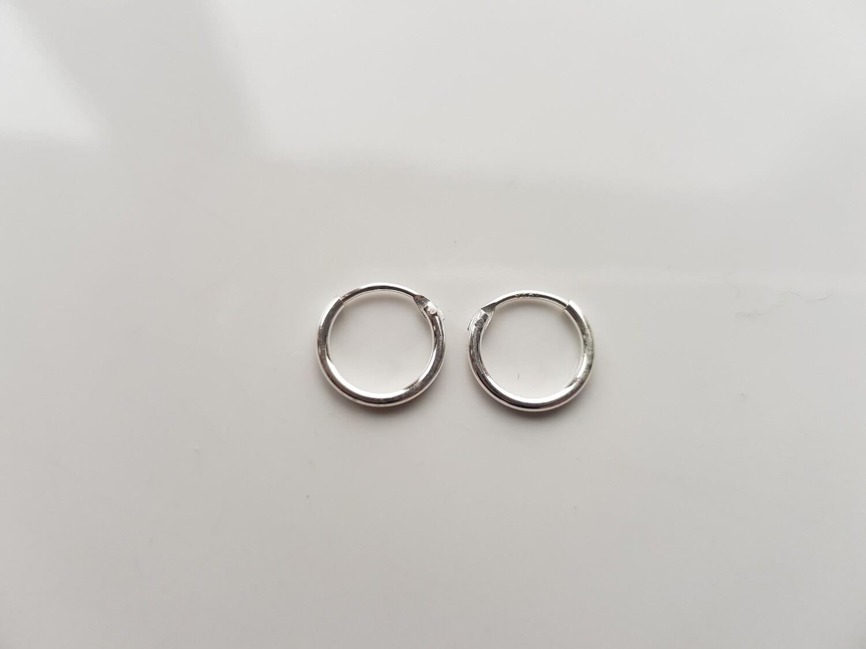 Oorringetjes 7 mm 925 sterling zilver