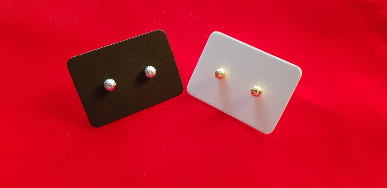 Knopjes goud 4 mm mat