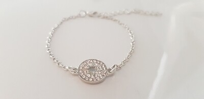 Starcoin armband zilver