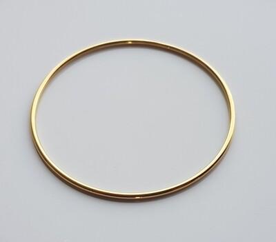 Minimalistische armband goud stainless steel