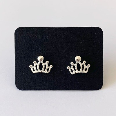 Crown knopjes 925 sterling zilver