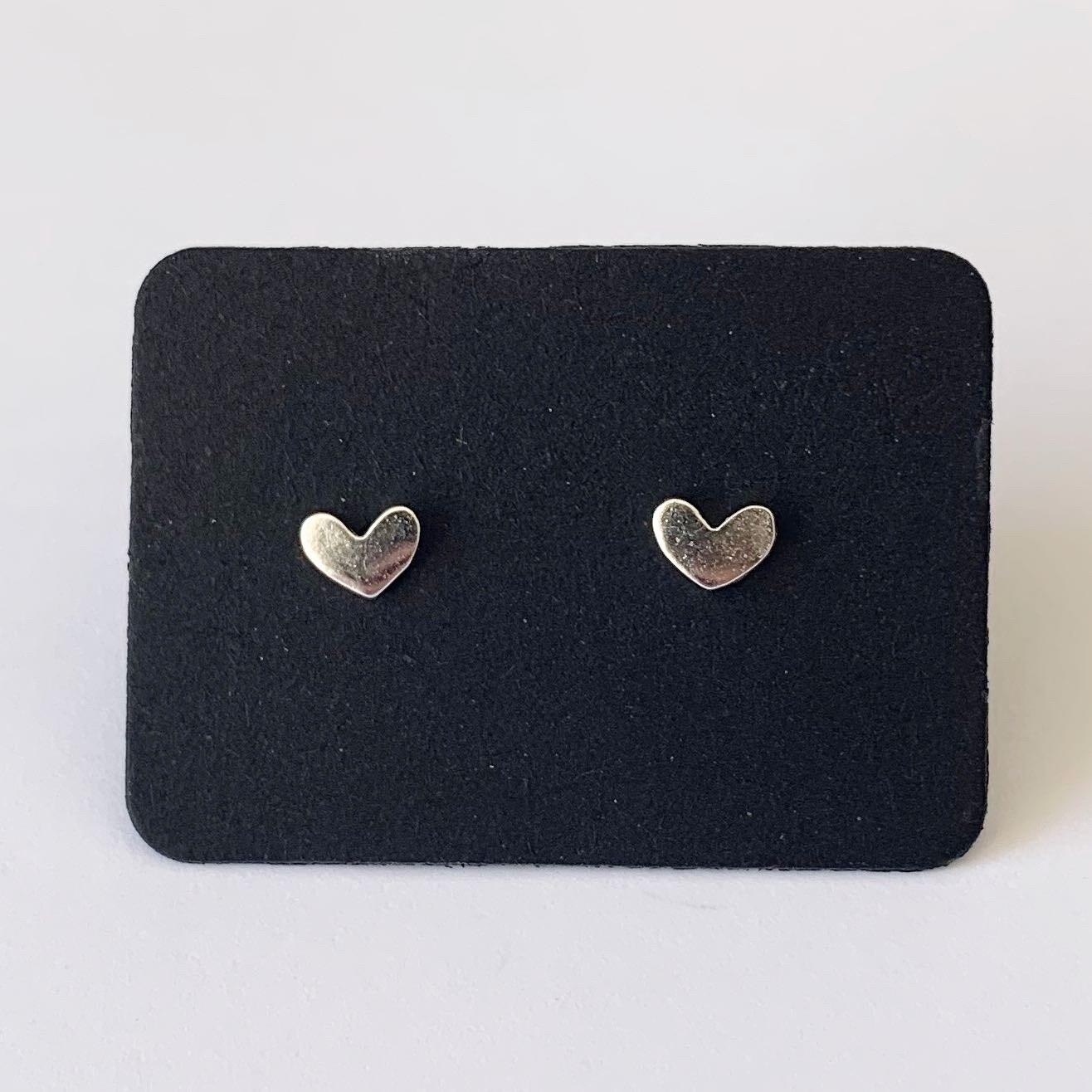 Tiny heart knopjes 925 sterling zilver