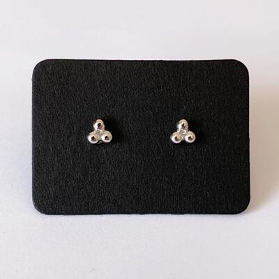 Dots knopjes 925 sterling zilver