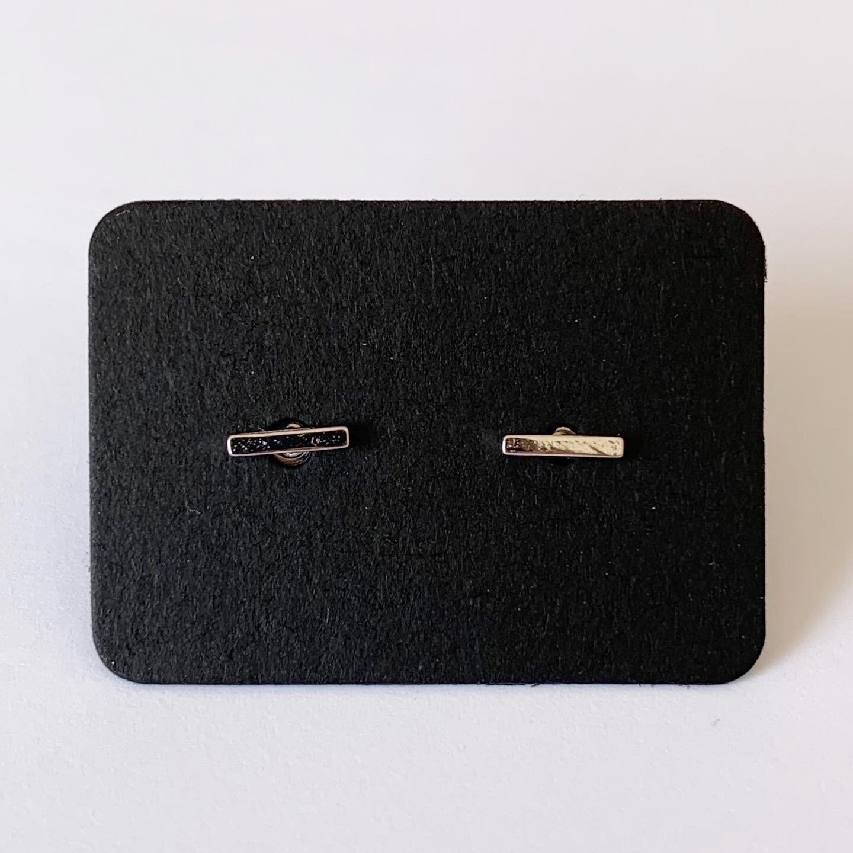 Minimalistische knopjes 925 sterling zilver