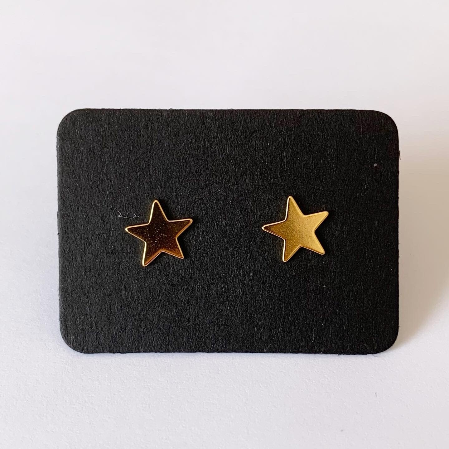 Star knopjes gold plated