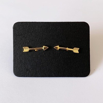 Arrow knopjes gold plated