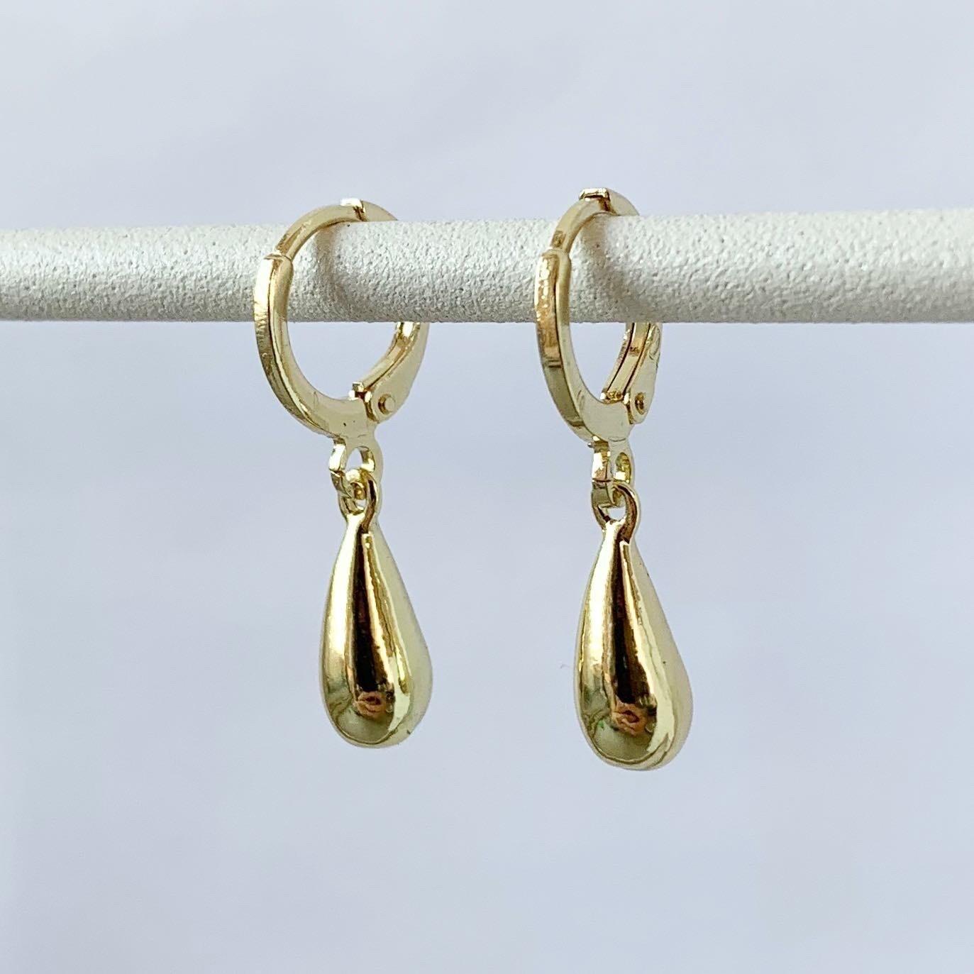 Perfecte druppel oorbellen goud