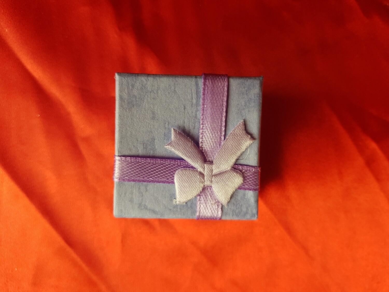 Cadeau doosje voor oorbellen of ring