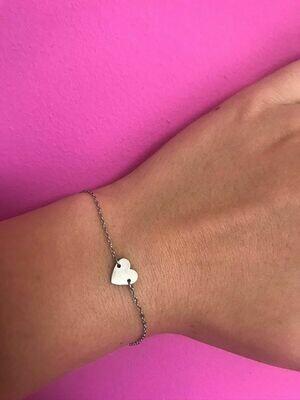 Mini hartje armband
