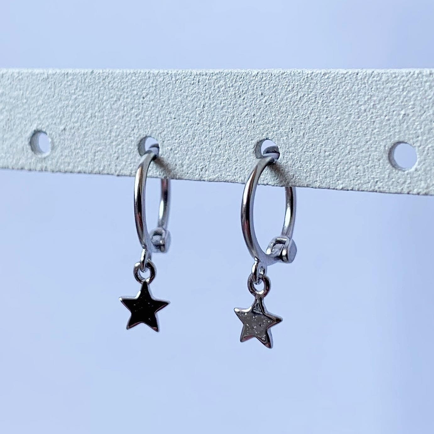 Tiny star oorringetjes 925 sterling zilver