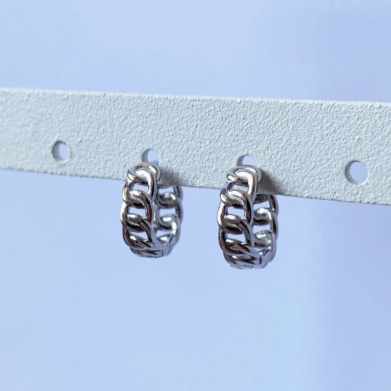 Knoopje oorringetjes 925 sterling zilver