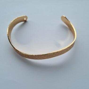 Wave armband kleur: goud