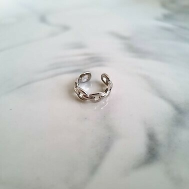 Chain ear cuff 925 sterling zilver