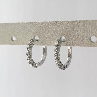 Fairy oorringetjes 925 sterling zilver
