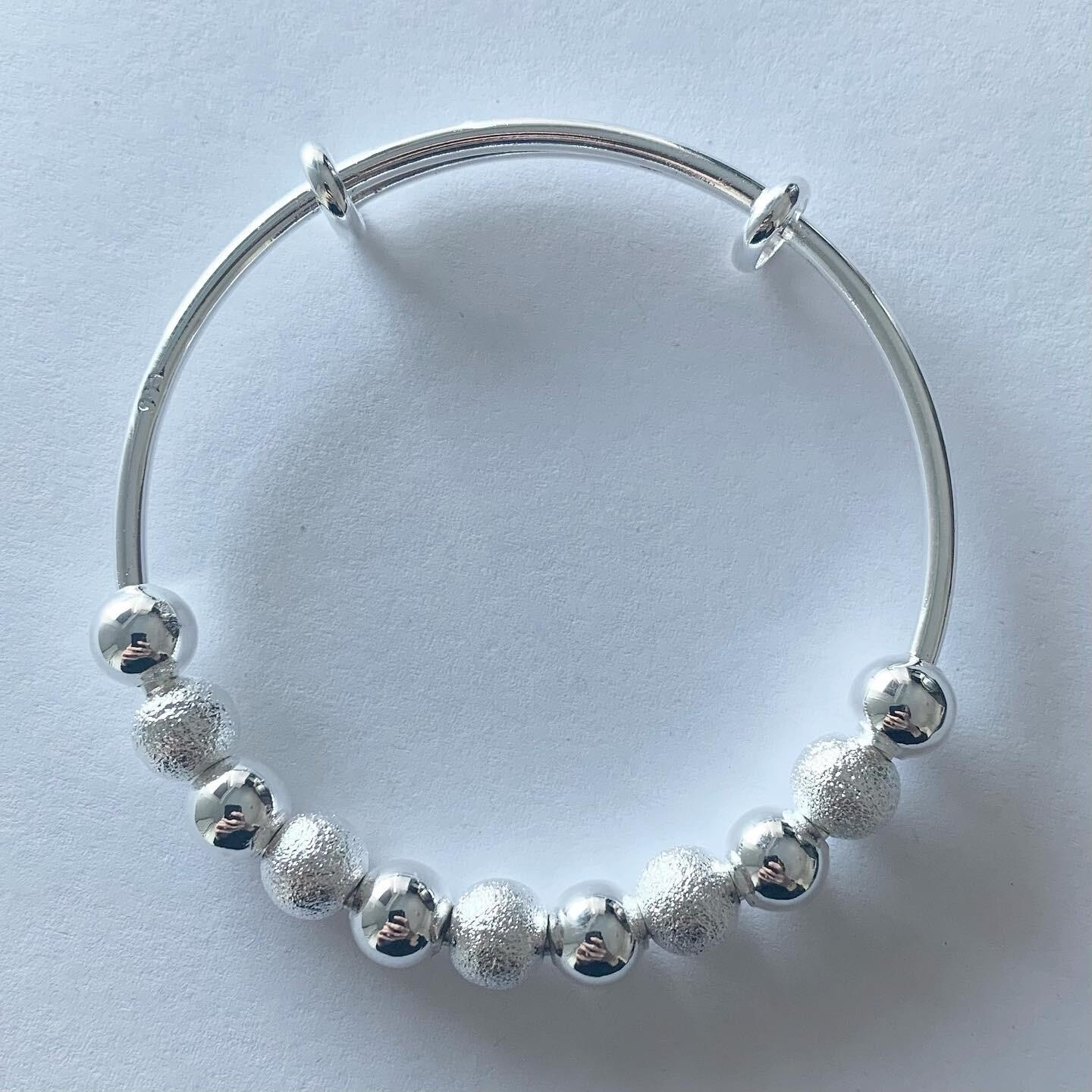 Beads armband 925 sterling zilver