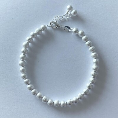 Mini beads armband 925 sterling zilver