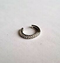 Shiny ear cuff 925 sterling zilver