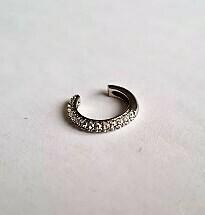 Shiny ear cuff 925 sterling zilver