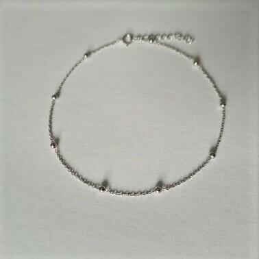 Beads enkelbandje 925 sterling zilver