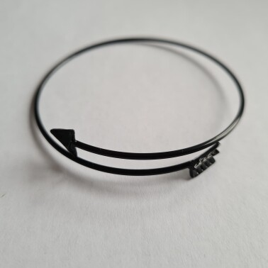 Arrow armband zwart