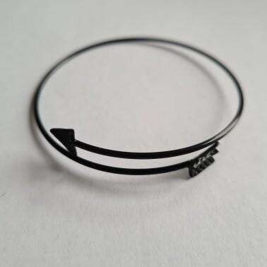 Arrow armband zwart
