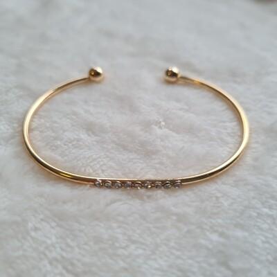 Shiny armband goud