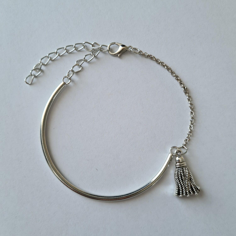 Kwasje armband zilver