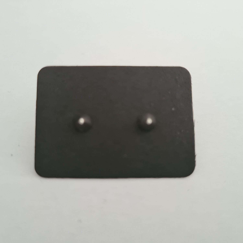 Spike oorknopjes 925 sterling zilver