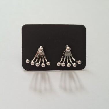 5 dots oorknopjes 925 sterling zilver