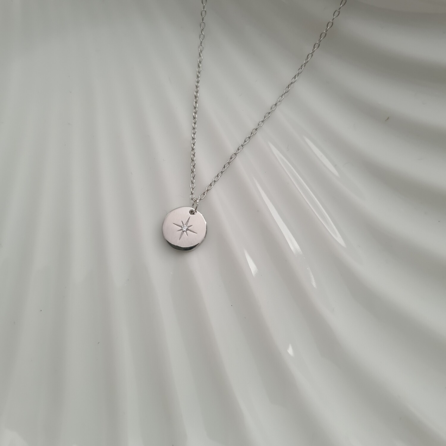 Shiny star ketting 925 sterling zilver