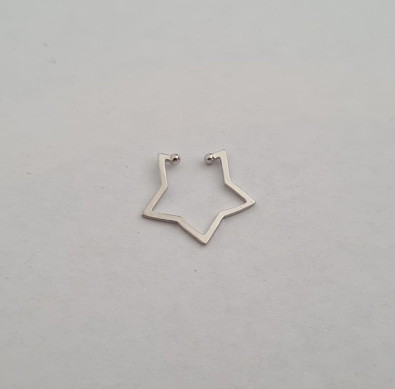 Ster ear cuff 925 sterling zilver