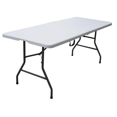 6' Plastic Table Daily Rental