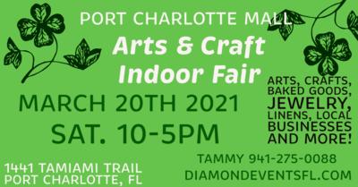 Port Charlotte Mall 11-5pm Sat 3/20/21