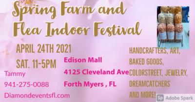 Edison Mall April 24th 2021 11-5pm