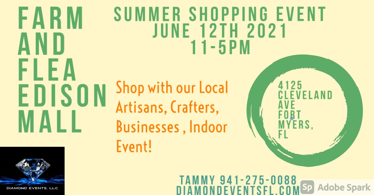 Edison Mall June 12th 2021 11-5pm