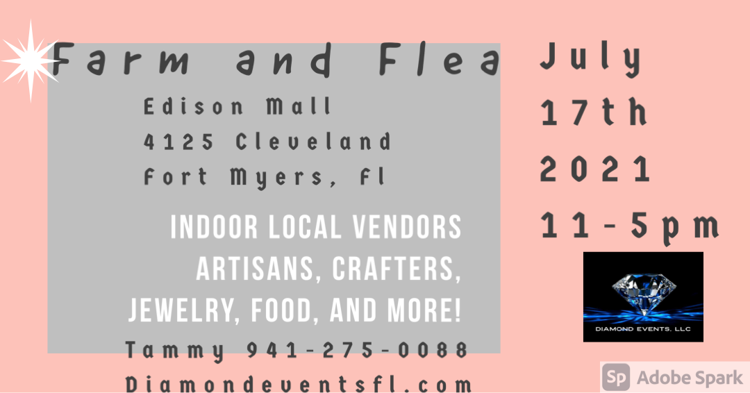 Edison Mall July 17th  11-5pm